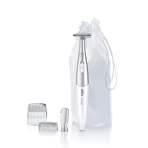 Braun Silk-Épil Bikini Styler Fg1100 Épilateur/4 Accessoires Blanc