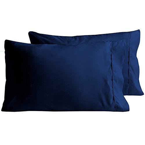 fdsad Funda de almohada de sobre, simple y suave, antiarrugas y antisuciedad, funda de almohada lavable para el hogar, dormitorio, sala de estar. 50 x 60 cm