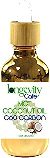 Carbon C60 Coconut MCT Oil (2oz.) pure vacuum oven dried 80mg of 99.95% C60 in 100ml of mct oil