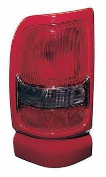 Go-Parts - for 1994 - 2002 Dodge Ram Rear Tail Light Lamp Assembly (with Sport Package + Red) - Right (Passenger) 5EK44PR4AC CH2801133 Replacement 1995 1996 1997 1998 1999 2000 2001