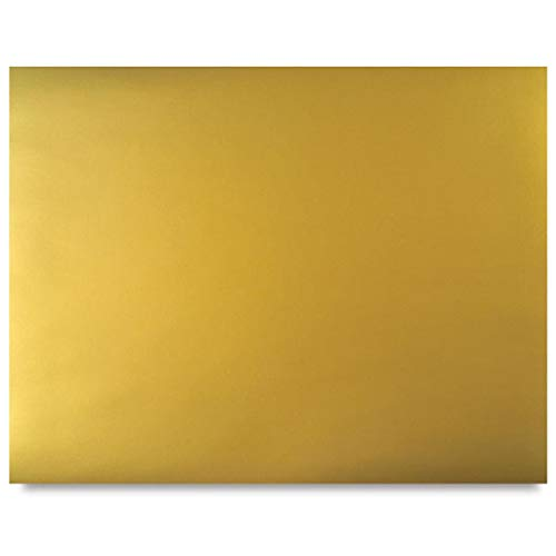Riverside Paper 54981 Colored 4-ply Poster Board, 22 x 28, Gold On One Side, 25 Boards/Carton