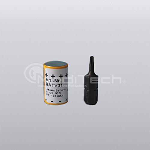 BATV31 - vervangende lithium batterij 6 V/170 mAh - Original Daitem Atral