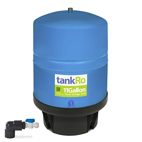 11 Gallon RO Expansion Tank – Large Reverse Osmosis Water Storage Pressure Tank by tankRO – with...