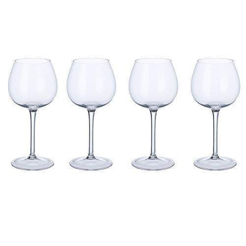 Juego de copas de vino blanco suaves y redondas de 4 piezas. Purismo Villeroy und Boch - Copa de vino