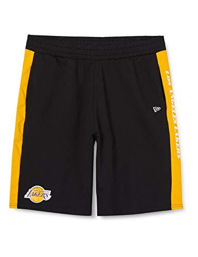 A NEW ERA Era NBA Contrast Short Loslak AGD Pantaloncini, Uomo, Pantalone Corto, 12369787, Nero, 3XL