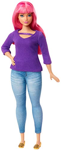 Barbie- Dreamhouse Adventure Daisy Muñeca curvy con pelo