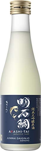 Akashi Sake Brewery Junmai Daiginjo Genshu 16%vol (1 x 0.3 l)