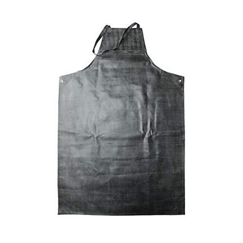 Waterdichte rubberen schort, 45° zuurbestendige olie en vuilafstotend werkschort - ideaal voor vaatwassers, laboratoriumwerkzaamheden, slagerijen, druk, verf, besmetting