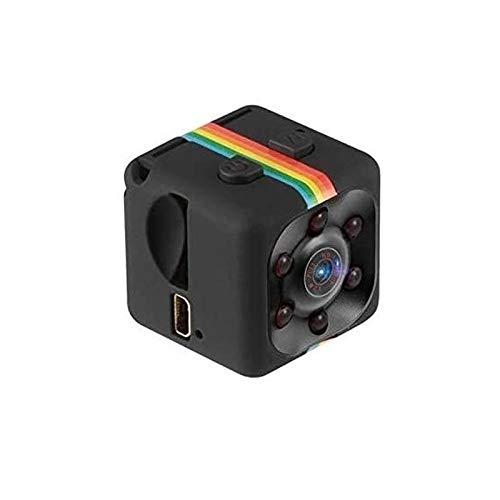 Qxinjinxsxt Invisible micro de la cámara WIFI, Inteligente no la luz de visión nocturna, cubierta de Seguimiento al aire libre 1080P HD-140 Gran Angular, alarma de detección de movimiento, Ajuste de l