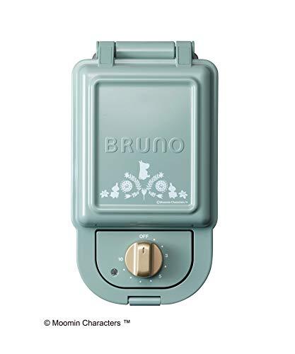 ブルーノ BRUNO ホットサンドメーカー 耳まで焼ける 電気 ムーミン シングル ブルーグレー BOE050-BGR