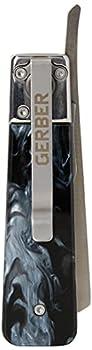 GERBER Jukebox EDC Pocket Knife with Straight Edge Blade Flipper Tortoise Shell [31-003761]