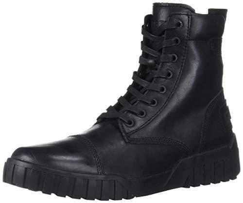 Diesel Herren LE H-RUA AM-Sneaker mid modischer Stiefel, schwarz, 42 EU