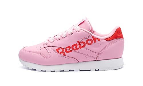 Reebok Classic CL Lthr W Pink/Rot/Weiß (37.5 EU)
