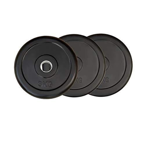 POWER EXTREME Hantelscheiben, gummiert, 31mm (5kg)