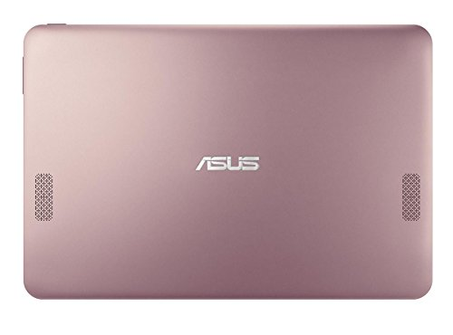 Asus Transformer Book T101HA-GR007T Notebook Convertibile, Display da 10.1', Processore Atom Z8350 Quad Core, 1.44 GHz, eMMC da 64 GB, 2 GB di RAM, Pink Gold [Layout Italiano]