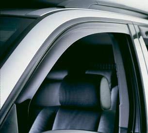 Volvo S70 V70 S-70 V-70 S 70 V 70 Windabweiser Sonnenblenden Regenschutz Außenverkleidung Set 2005 2006 2007