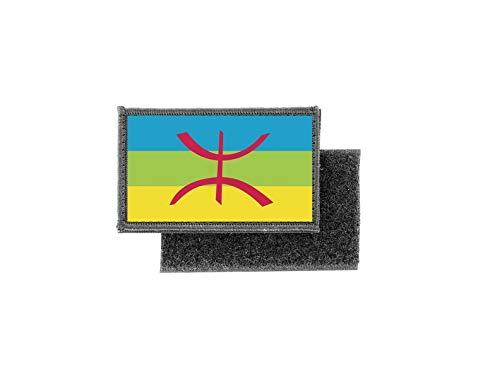 Aufnäher patch aufbügler gedruckt flagge fahne berber amazigh berberische berer