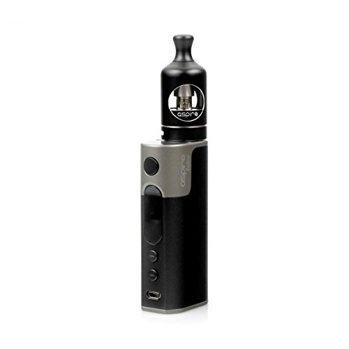 Aspire Zelos 50w 2500mah Eingebaute Batterie / Nautilus 2 2ml TPD Konform Kit (Schwarz) Erhält Kein Nikotin