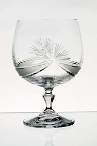 ZAW Juego de 6 Copas de coñac de Cristal de Plomo