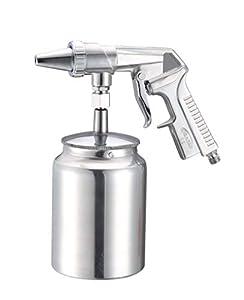 Merry Tools HK Pistola de chorro de arena para eliminar la pintura u óxido de coches o camiones 222250