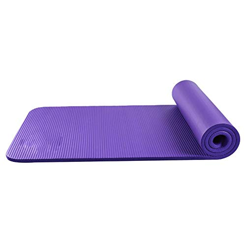 Home Gyms Yoga-Matte Anti-Rutsch-Sport-Fitness-Matte Yoga-Matte zu Hause Sport-Fitness-Tanz (Color : Purple)