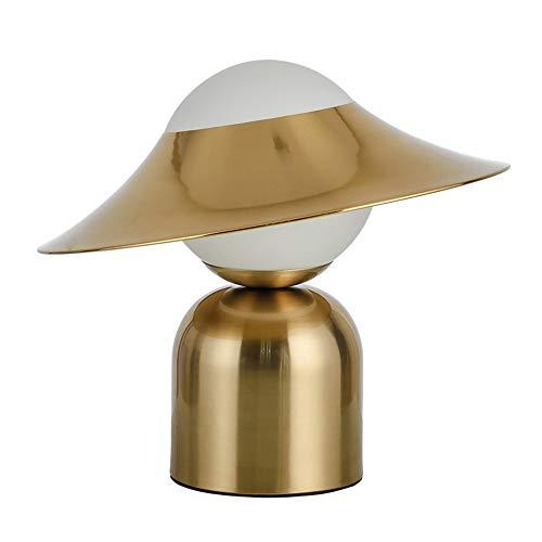 Dr.Sprayer Lámpara de Techo Lámpara Moderna Creativa Personalidad Metal Sombrero lámpara/diseñador Sala de Estar lámpara de Noche lámpara de Noche Modelo de Espacio (Color : Luz Blanca)