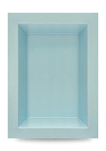 B&M Polypool GFK Teichbecken | Gartenteich | 660 Liter | 180x130x52 cm | von M+W Gartenflair (Blau)