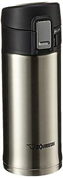 Zojirushi 0.36-Liter Stainless Steel Travel Mug 12-Ounce Silver