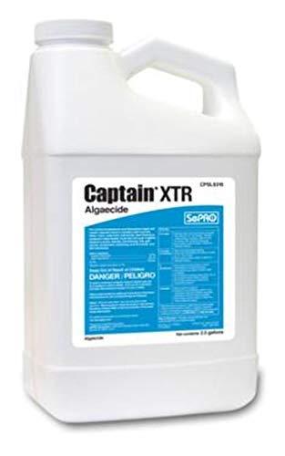 SePRO Captain XTR Liquid Copper Algaecide (2.5 Gallons)