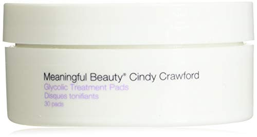 Meaningful Beauty Cindy Crawford Glycolic Treatment Pads, 30 Count