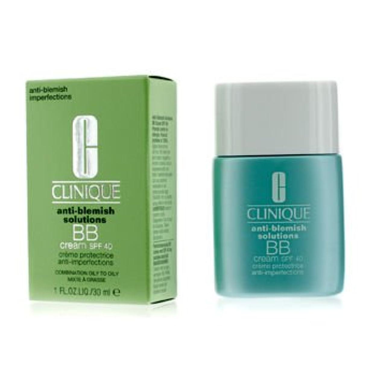 注釈を付ける骨髄ほとんどない[Clinique] Anti-Blemish Solutions BB Cream SPF 40 - Light Medium (Combination Oily to Oily) 30ml/1oz