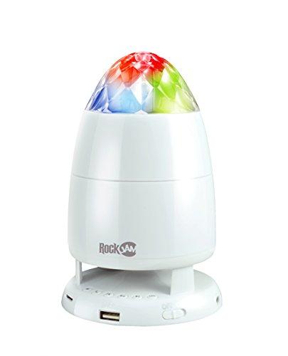 RockJam Rock-it Rechargeable portable bluetooth speaker with disco light