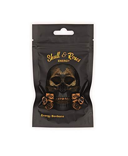 Skull & Roses Energy Bonbons mit Koffein und Taurin 40g
