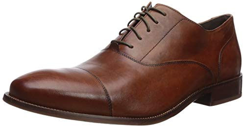 Cole Haan Mens Williams Cap Toe Oxford, British Tan, 11.5