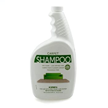 PartsBlast Kirby 252702 Genuine Allergen Dry Foam Scented Carpet Shampoo 32 oz Quart