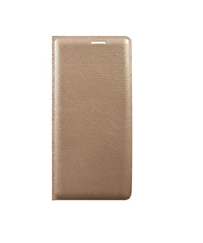 COVERBLACK Flox Leather Flip Cover for Samsung Galaxy Note Edge SM-N9150 - Golden