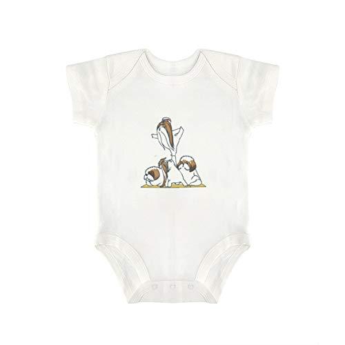 DKISEE Body divertido para bebé y niña de yoga, diseño de perro