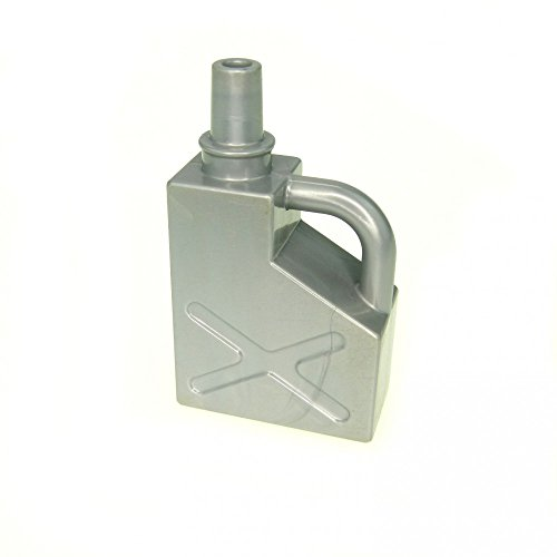 1 x Lego Duplo Kanister silber grau 1x2x2 Benzin Oel Kanne Tankstelle Auto 45141