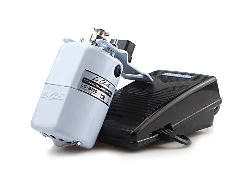 La Canilla ® - Motor Máquina de Coser 150W BLANCO 8.000RPM para Alfa, Singer, Refrey, Sigma Máquinas de Coser Antiguas y Modernas