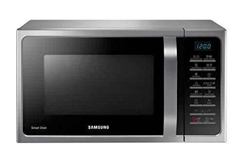 Samsung MW5000H MC2BH5015AS/EG Kombi-Mikrowelle mit Grill und Heißluft / 900 W / 28 L Garraum (Extra groß) / 51,7 cm Breite / Hefeteig-/Joghurt-Programm / silber / E-Commerce Verpackung