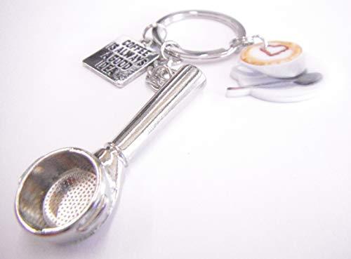 Sportslight Coffee Good Idea Cappuccino-Filterwerkzeug, Schlüsselanhänger in Geschenkverpackung