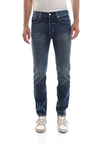 Levi's 34268 501 Skinny Jeans Mannen Denim Medium Blauw 32 L32