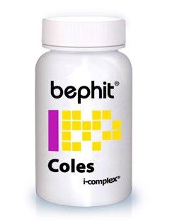 COLES (Levadura de arroz rojo + Policosanol + Cromo picolinato BEPHIT - 30 cápsulas 510 mg