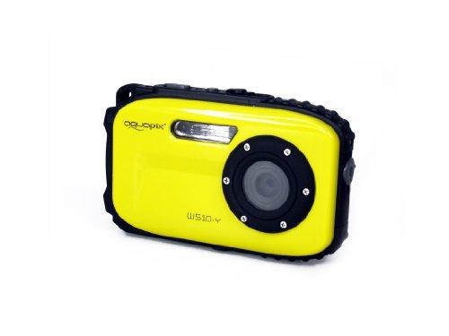 Aquapix W510 Neon Appareil photo étanche jusqu'à 10 mètres 480p Jaune