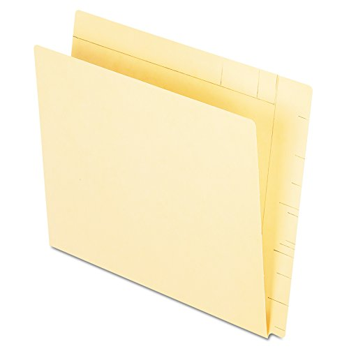 Pendaflex 16640 Conversion Folders, Straight Cut, Top Tab, Letter, Manila (Box of 100)