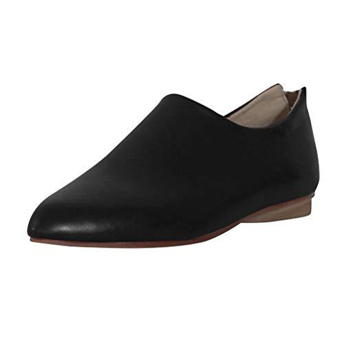 LUCKYCAT Damen Slipper, Mokassins, Slip-Ons, Halbschuhe, Sommerschuh Damen Bootsschuhe Loafers...