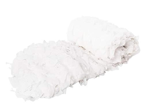 KSS Camouflage-Netz aus Oxford-Polyester, verschiedene Farben, personalisierbar, Snow camo, 9.8 x9.8ft (3x3M)