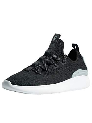 Supra Factor Skate Shoe, Black/Light Grey-White, 13 Regular US