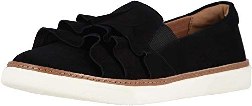 Vionic Women's Sunny Mahalo Slip-on - Ladies Sneaker Concealed Orthotic Support Black 6 M US