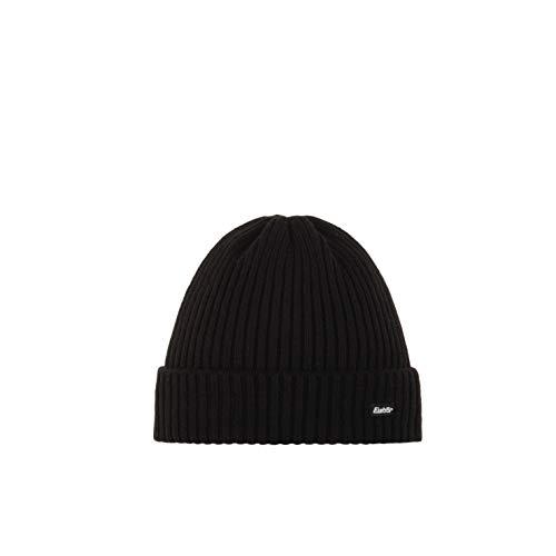 Eisbär Mütze Ripp, schwarz, One Size